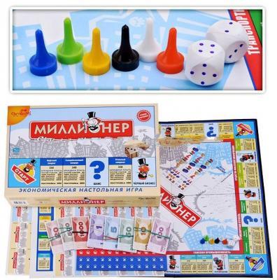 Настольная игра для вечеринки ОРИГАМИ Миллионер-классик подарочный 4335 настольная экономическая игра миллионер ин 2225