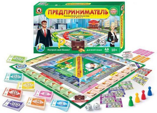 Настольная игра для вечеринки Русский Стиль Предприниматель  3498
