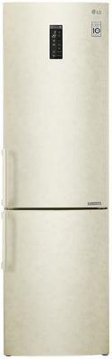 Холодильник LG GA-B499YEQZ бежевый пылесос lg vc53202nhtr