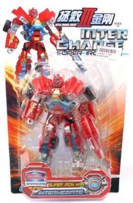 Купить Робот-трансформер Shantou Gepai Inter Change 10085, Игрушки-трансформеры