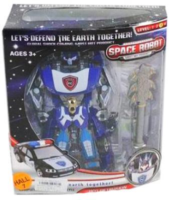 """Машина-трансформер Shantou Gepai """"Робот-полицейский"""" с аксессуарами D622-E189"""