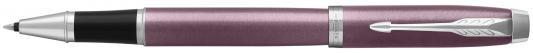 Ручка-роллер Parker IM Core T321 Light Purple CT черный F 1931635 natassie women crystal clutches bags ladies evening bag female red purple party clutch wedding purse
