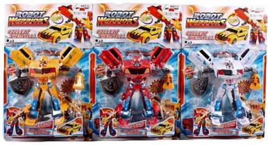 Робот-трансформер Shantou Gepai Robot Warriors ассортимент, свет, звук, 9-12