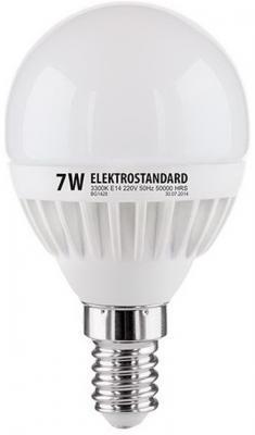 Лампа светодиодная шар Elektrostandard 4690389085376 E14 7W 3300К от 123.ru