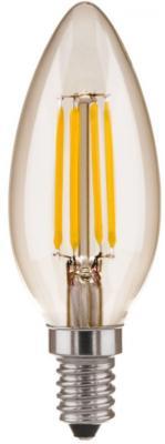 Лампа светодиодная E14 5W 4200K свеча прозрачная 4690389085895 от 123.ru