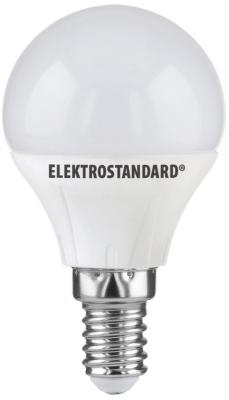 Лампа светодиодная E14 5W 4200K шар матовый 4690389081606 от 123.ru
