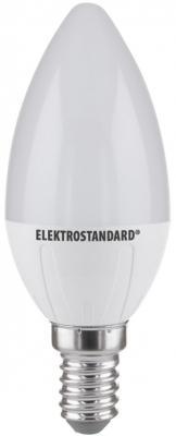 Лампа светодиодная E14 6W 3300K свеча матовая 4690389081491 от 123.ru