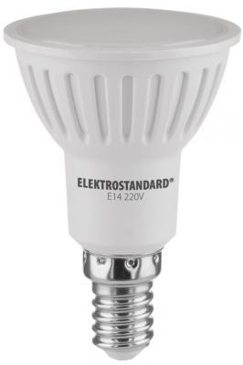 Лампа светодиодная E14 7W 3300K полусфера матовая 4690389088087 elektrostandard лампа светодиодная elektrostandard свеча на ветру сdw led d 6w 3300k e14 4690389085505