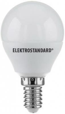 Лампа светодиодная E14 7W 4200K шар матовый 4690389085390