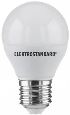 Лампа светодиодная E27 7W 4200K груша матовая 4690389085406
