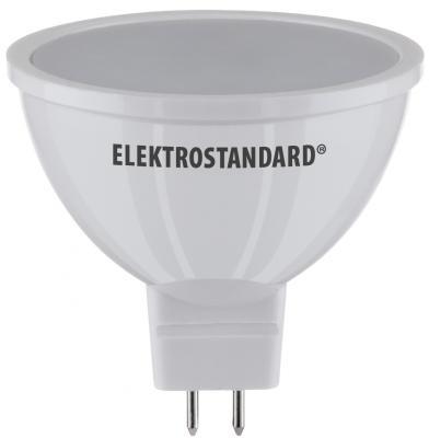 Лампа светодиодная G5.3 5W 3300K полусфера матовая 4690389081590 elektrostandard лампа светодиодная elektrostandard свеча на ветру сdw led d 6w 3300k e14 4690389085505