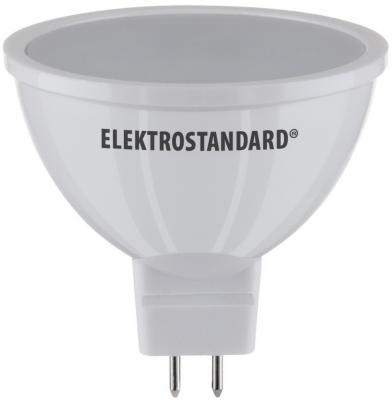 Лампа светодиодная G5.3 7W 3300K полусфера матовая 4690389081651 elektrostandard лампа светодиодная elektrostandard свеча на ветру сdw led d 6w 3300k e14 4690389085505