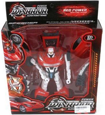 Машина-трансформер Shantou Gepai Warrior Red Power 20 см 2116AB цена