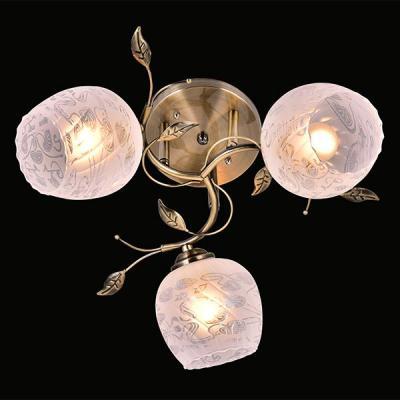 Потолочная люстра Eurosvet 30059/3 античная бронза