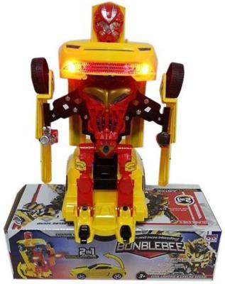 Робот-трансформер Shantou Gepai Bunblebee 2 в 1 свет, звук, 635452