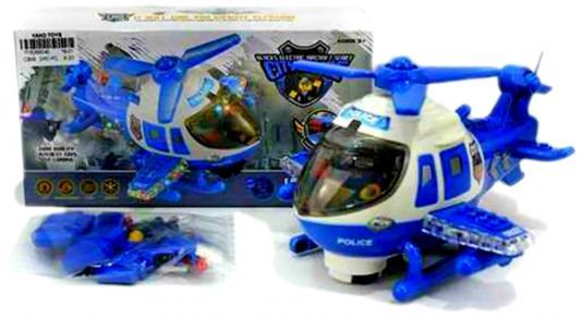 Вертолет Shantou Gepai Полицейский вертолет синий свет, звук Y18269040