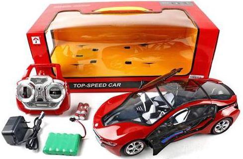 Машинка на радиоуправлении Shantou Gepai Top Speed Car пластик от 3 лет красный