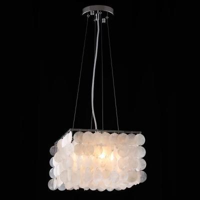 Подвесной светильник Eurosvet 60022/4 хром/перламутр подвесной светильник eurosvet 50082 4 хром белый