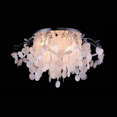 Потолочный светильник Eurosvet 60020/6 хром/перламутр