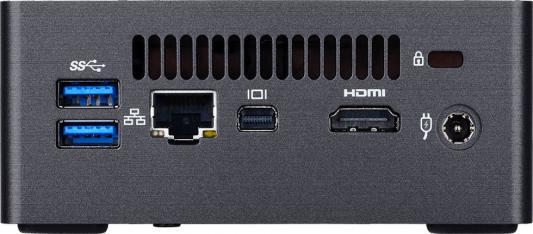 Неттоп GigaByte BRIX Intel Core i5-7200U Intel HD Graphics 620 Без ОС черный GB-BKI5HA-7200