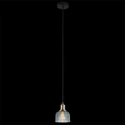 Подвесной светильник Eurosvet Стрит 50028/1 голубой
