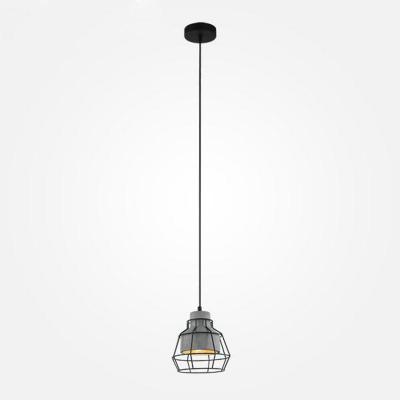 Подвесной светильник Eurosvet Далас 50038/1 серый