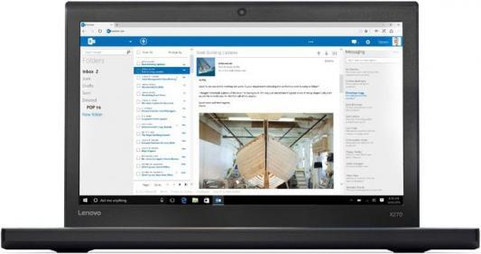 """Ноутбук Lenovo ThinkPad X270 12.5"""" 1920x1080 Intel Core i3-7100U 20HNS03J00"""