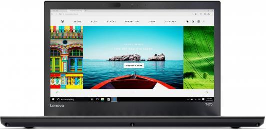 Ноутбук Lenovo ThinkPad T470 14 1920x1080 Intel Core i5-7200U ноутбук lenovo thinkpad t470