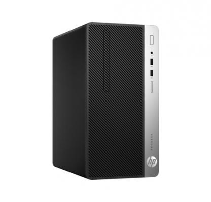 Системный блок HP ProDesk 400 G4 MT i5-6500 3.2GHz 8Gb 1Tb HD530 DVD-RW Win7Pro Win10Pro клавиатура мышь серебристо-черный 1HL03EA