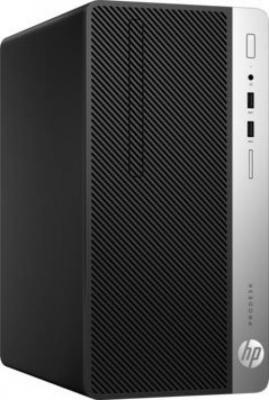 Системный блок HP ProDesk 400 G4 MT i7-7700 3.6GHz 8Gb 1Tb GT730-2Gb DVD-RW Win7Pro Win10Pro клавиатура мышь серебристо-черный 1JJ66EA