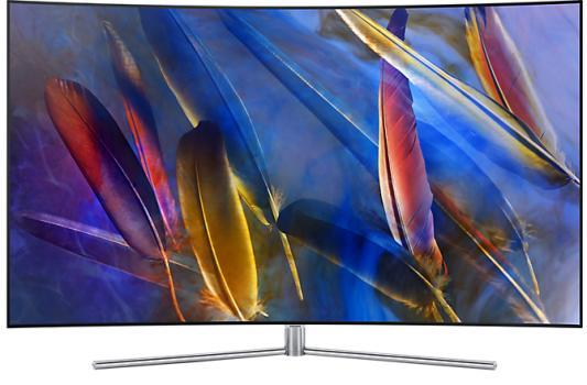 Телевизор Samsung QE49Q7CAMUXRU серебристый постельное белье 2 0 70 jardin постельное белье 2 0 70