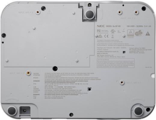 Проектор NEC ME361W 1280x800 3600 люмен 6000:1 белый от 123.ru
