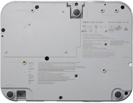Проектор NEC ME301X 1024x768 3000 люмен 12000:1 белый от 123.ru