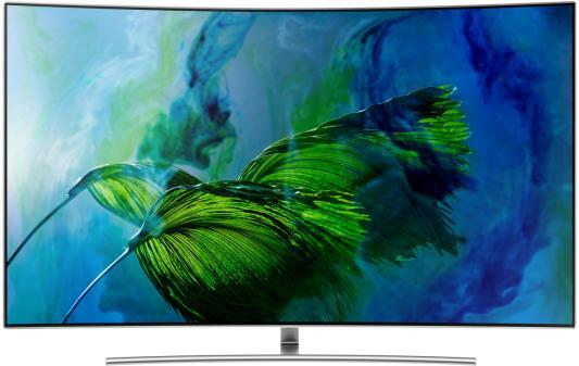 Телевизор Samsung QE65Q8CAMUXRU серебристый