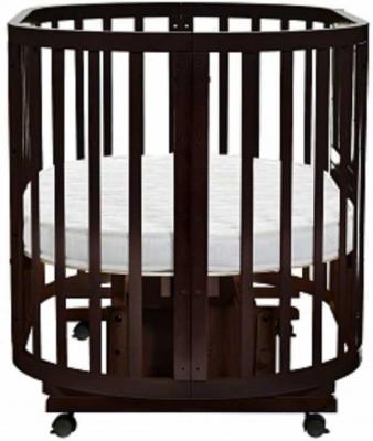Кроватка-трансформер с маятником Noony Cozy (венге) кроватка трансформер ведрусс раиса с маятником темная