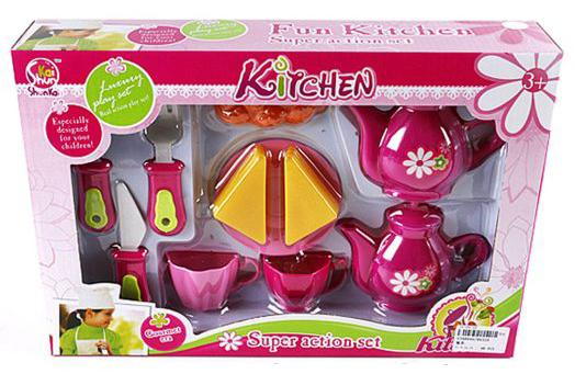 """Набор посуды Shantou Gepai """"Принцесса"""" 9032A"""
