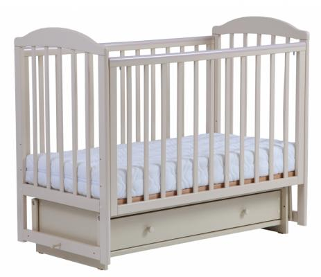 Кроватка с маятником Кубаночка-5 БИ 41.2 (слоновая кость) кроватка с маятником кубаночка 1 би 37 2 слоновая кость