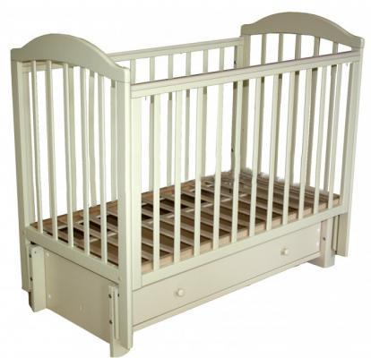 Кроватка с маятником Кубаночка-5 БИ 41.3 (слоновая кость) кроватка с маятником sweet baby eligio avorio слоновая кость