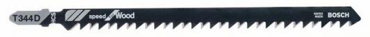Лобзиковая пилка Bosch T 344 D HCS 3шт 2608637944