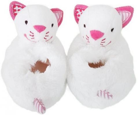 Тапочки-погремушки Жирафики Кошечка Китти для девочки 939184