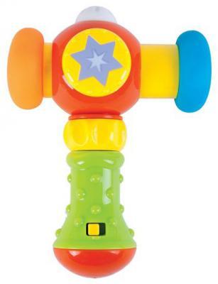 Развивающая игрушка Жирафики Сияющий молоточек 939399 (свет, звук) жирафики развивающая игрушка подвеска крабик звук буль буль