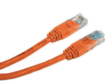 Патч-корд UTP 5E категории 3.0м Hyperline PC-LPM-UTP-RJ45-RJ45-C5e-3M-LSZH-OR оранжевый цена и фото