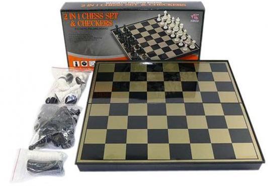 """Напольная игра набор игр Shantou Gepai """"Шахматы и шашки""""  EL3801-2"""