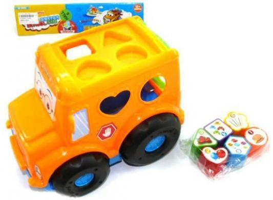 Развивающая игрушка Shantou Gepai Автобус. Логика 10086