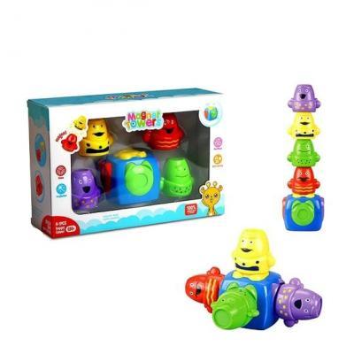 Купить Развивающая игрушка Shantou Gepai Логическая магнитная башенка, Развивающие центры для малышей