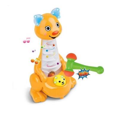 цена Развивающая игрушка Shantou Gepai Кенгуру с молоточком