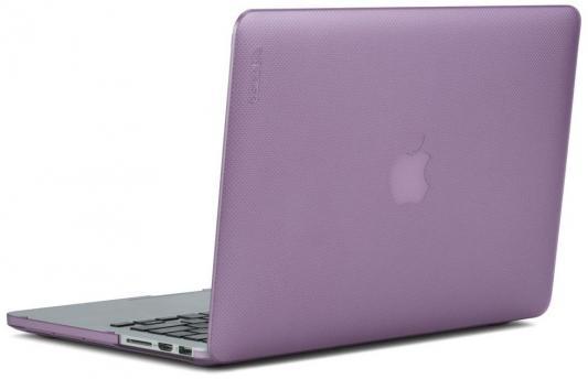 "Чехол для ноутбука MacBook Pro 13"" Incase Hardshell Dots пластик фиолетовый INMB200259-MOD цена и фото"