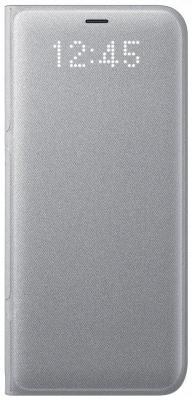Чехол Samsung EF-NG955PSEGRU для Samsung Galaxy S8+ LED View Cover серебристый