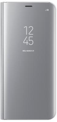 Чехол Samsung EF-ZG955CSEGRU для Samsung Galaxy S8+ Clear View Standing Cover серебристый чехол для смартфона samsung для galaxy s7 edge clear view cover серебристый ef zg935csegru ef zg935csegru