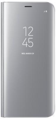 Чехол Samsung EF-ZG950CSEGRU для Samsung Galaxy S8 Clear View Standing Cover серебристый
